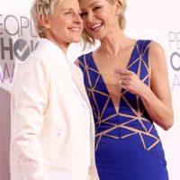 Ellen DeGeneres y Portia de Rossi Foto:Getty Images