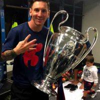 Con 28 años ha ganado siete ligas y cuatro Champions League con el Barcelona. Foto:Vía instagram.com/leomessi