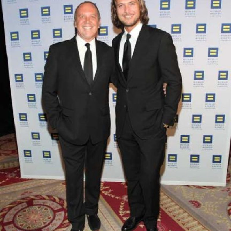 Michael Kors y Lance LePere Foto: Getty Images