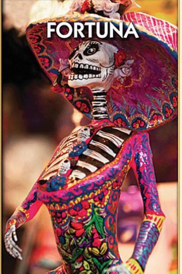 Las tarjetas están personalizadas con elementos mexicanos. Foto:Especial