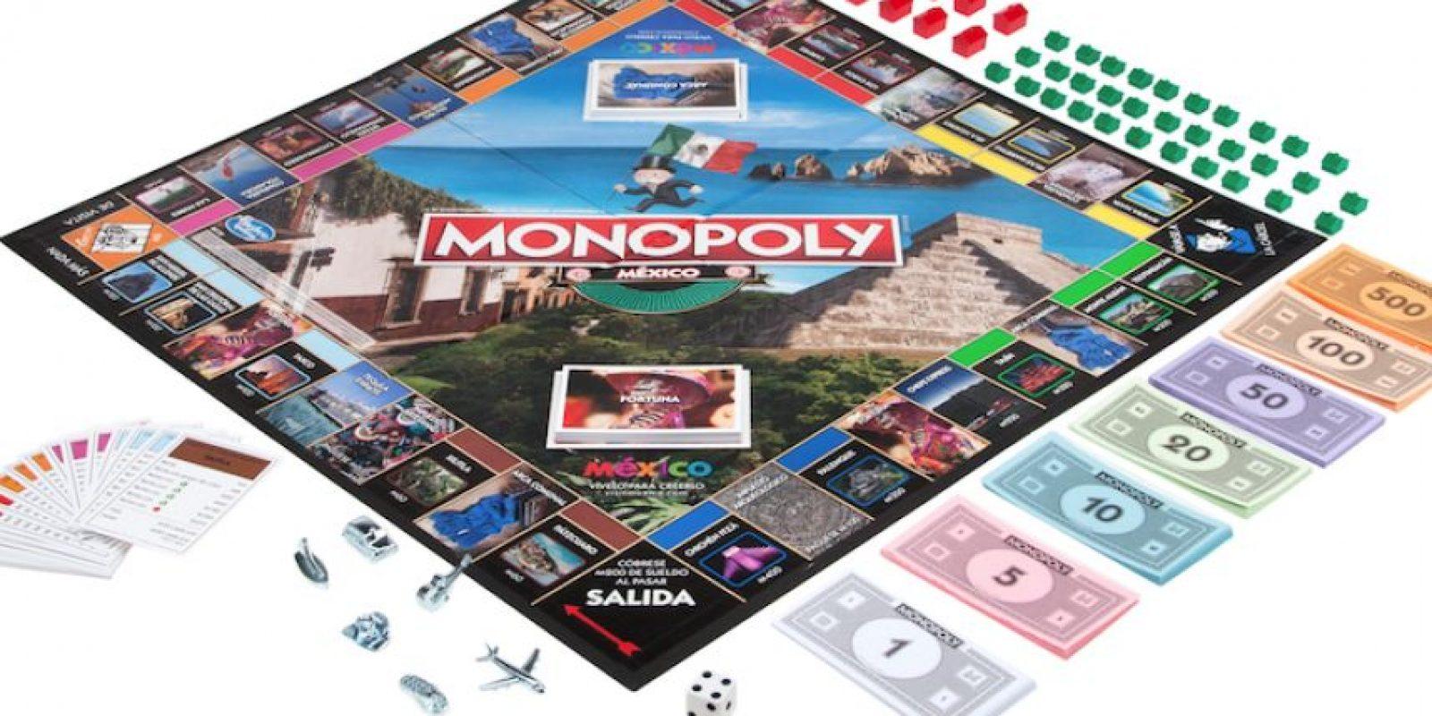 Los tokens o fichas de juego incluyen 3 diseños especiales: la guitarra, el sombrero y unas sandalias. Foto:Especial