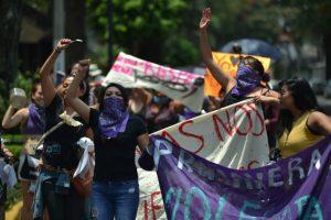 Este domingo se realizó una marcha multitudinaria contra la violencia machista hacia las mujeres Foto:Cuartoscuro