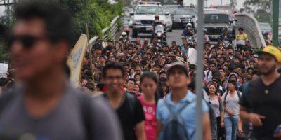 PAN y Nueva Alianza proponen el control de las protestas en la Constitución Foto:Cuartoscuro