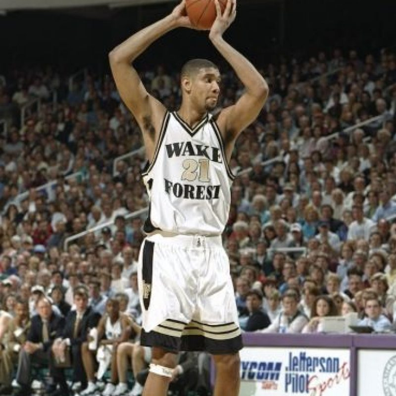 Duncan proviene de la Universidad Wake Forest. Foto: Getty Images