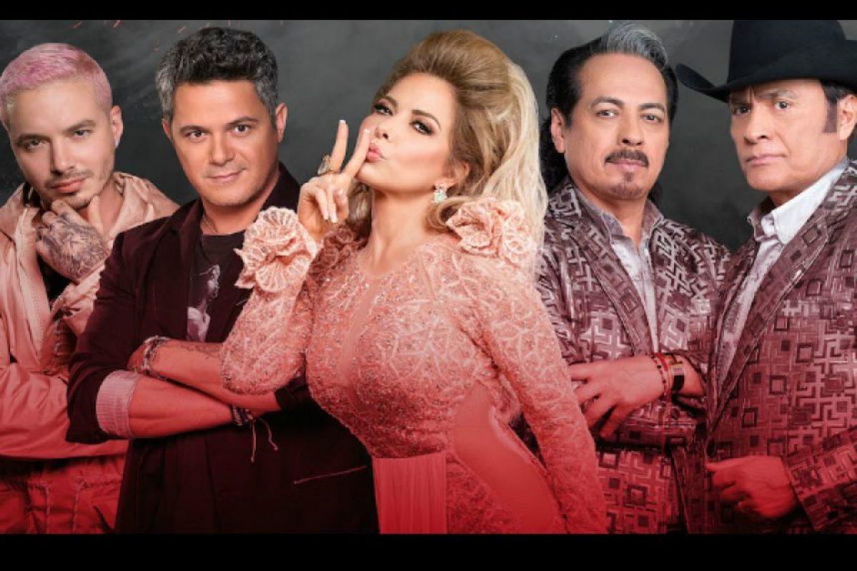 """Alejandro Sanz, Los Tigres del Norte, Gloria Trevi y J Balvin serán los coaches en esta edición de """"La Voz… México"""" Foto:Televisa"""