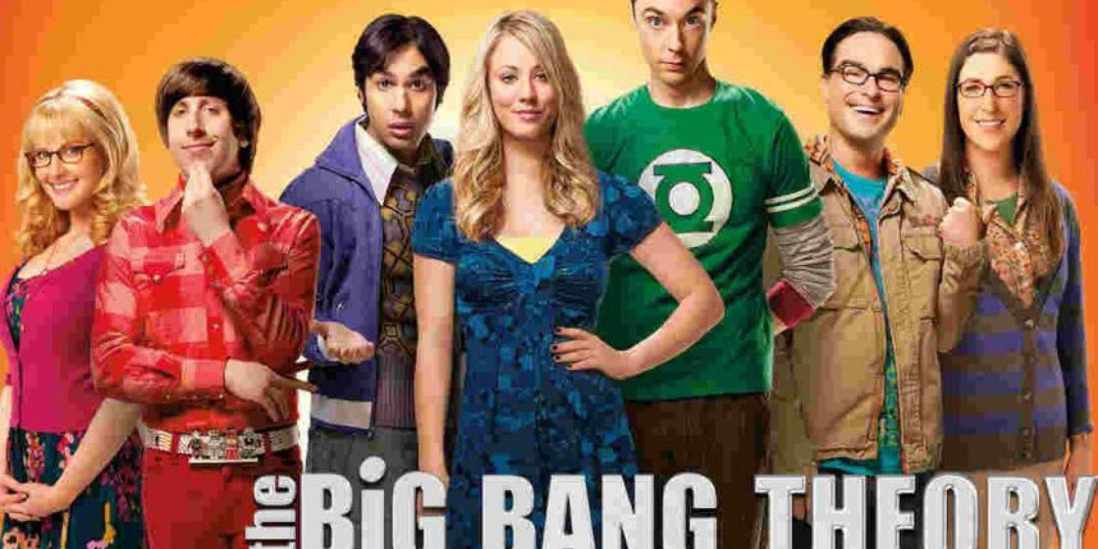 "Y en tercer lugar está ""The Big Bang Theory"". Foto:The Big Bang Theory"