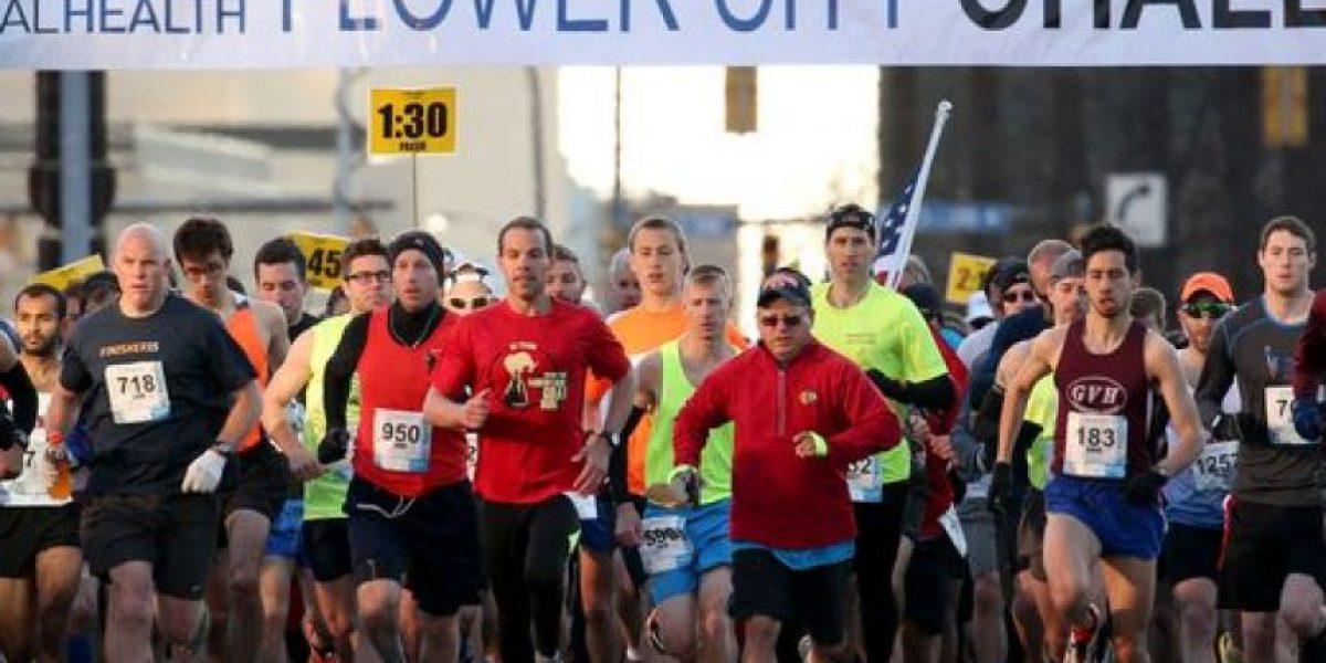 La niña de 12 años que por error corrió medio maratón