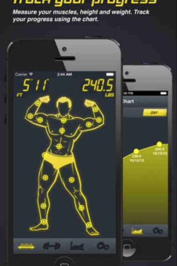 8.- Gym Machine Foto:App Store