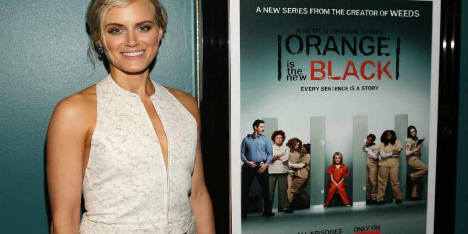 "Jodie Foster dirigió el tercer capítulo de ""Orange is the New Black"". Foto:Getty Images"