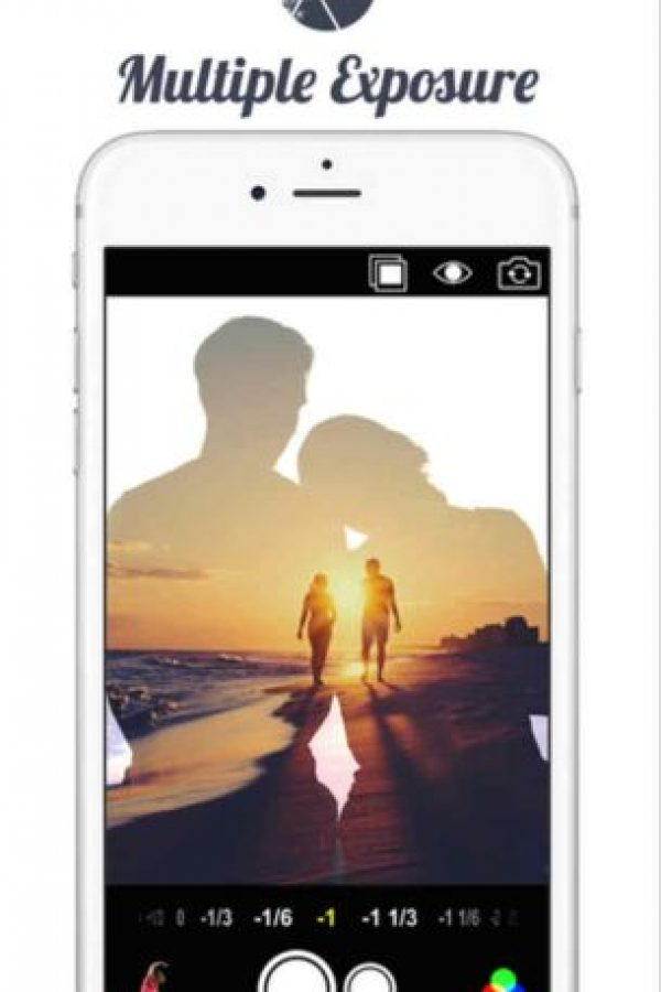 7.- Multiple Exposure Foto:App Store