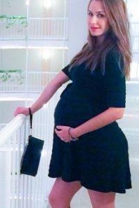 En la última etapa de su embarazo Foto:Instagram/odalysrp