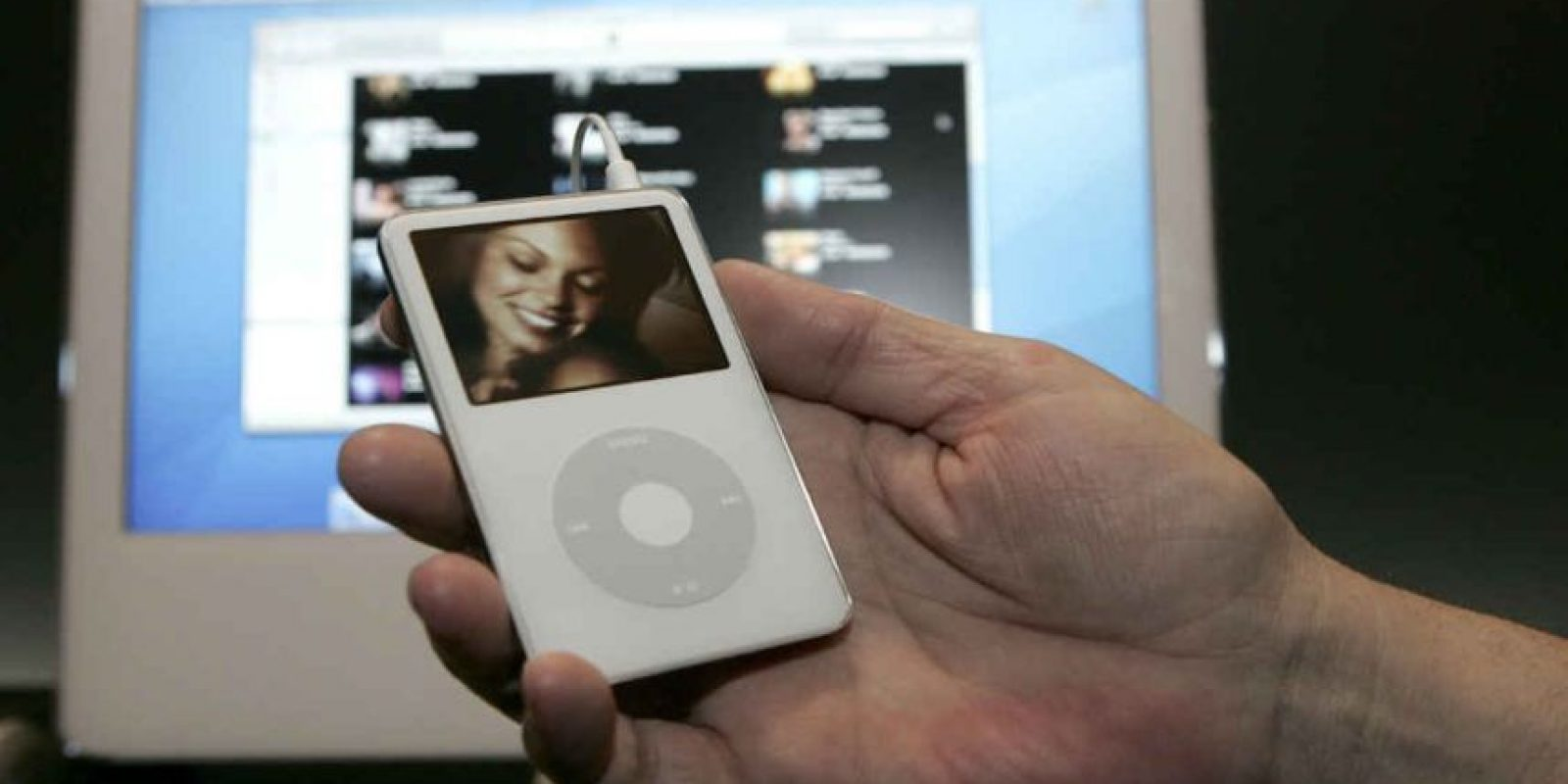 En 2005 se lanzó el iPod mini, el primero en colores diferentes. Foto:Getty Images