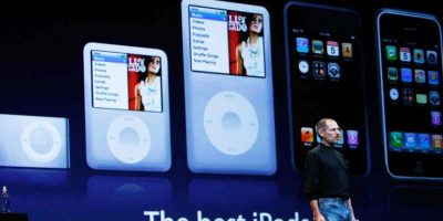 También en 2005 aparece el iPod Video, revolucionando al entretenimiento multimedia. Foto: Getty Images