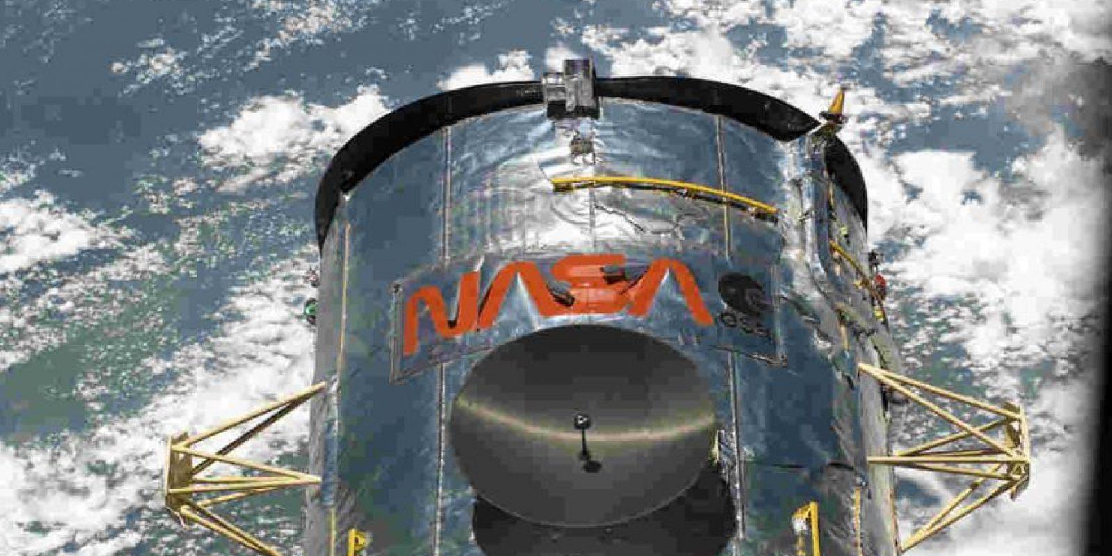 El telescopio Hubble se encuentra situado en los bordes exteriores de la atmósfera terrestre. Foto:Getty Images