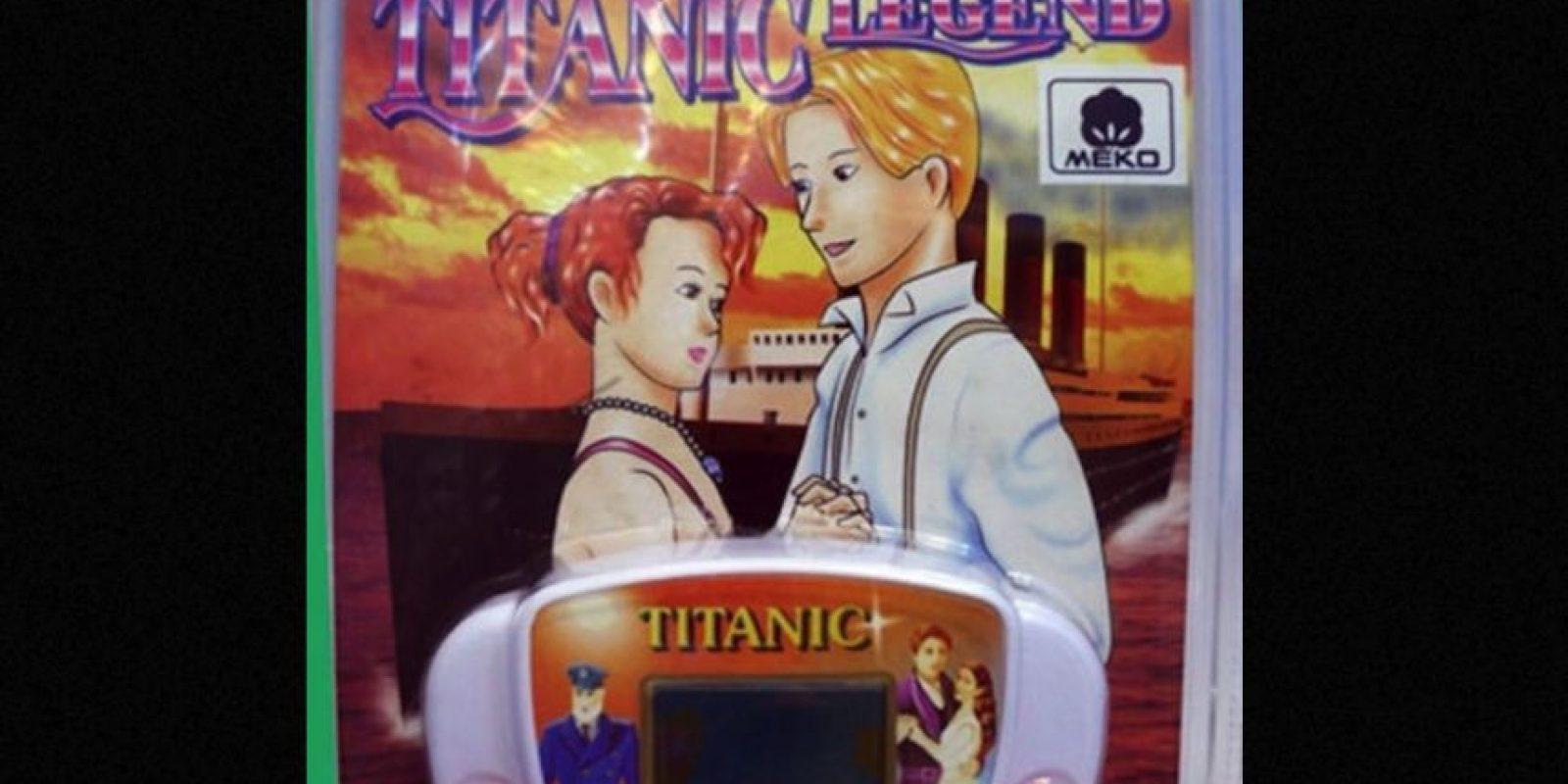 """Un videojuego de """"Titanic"""". Foto:vía Tumblr/ Bootleg Action Figures"""
