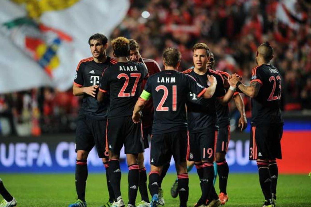 Bayern Munich llegó a semifinales tras dejar en el camino al Benfica. Foto:Getty Images