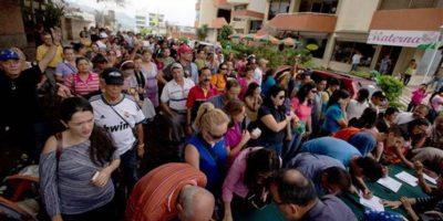 El proceso busca recortar el mandato de Maduro Foto:ap