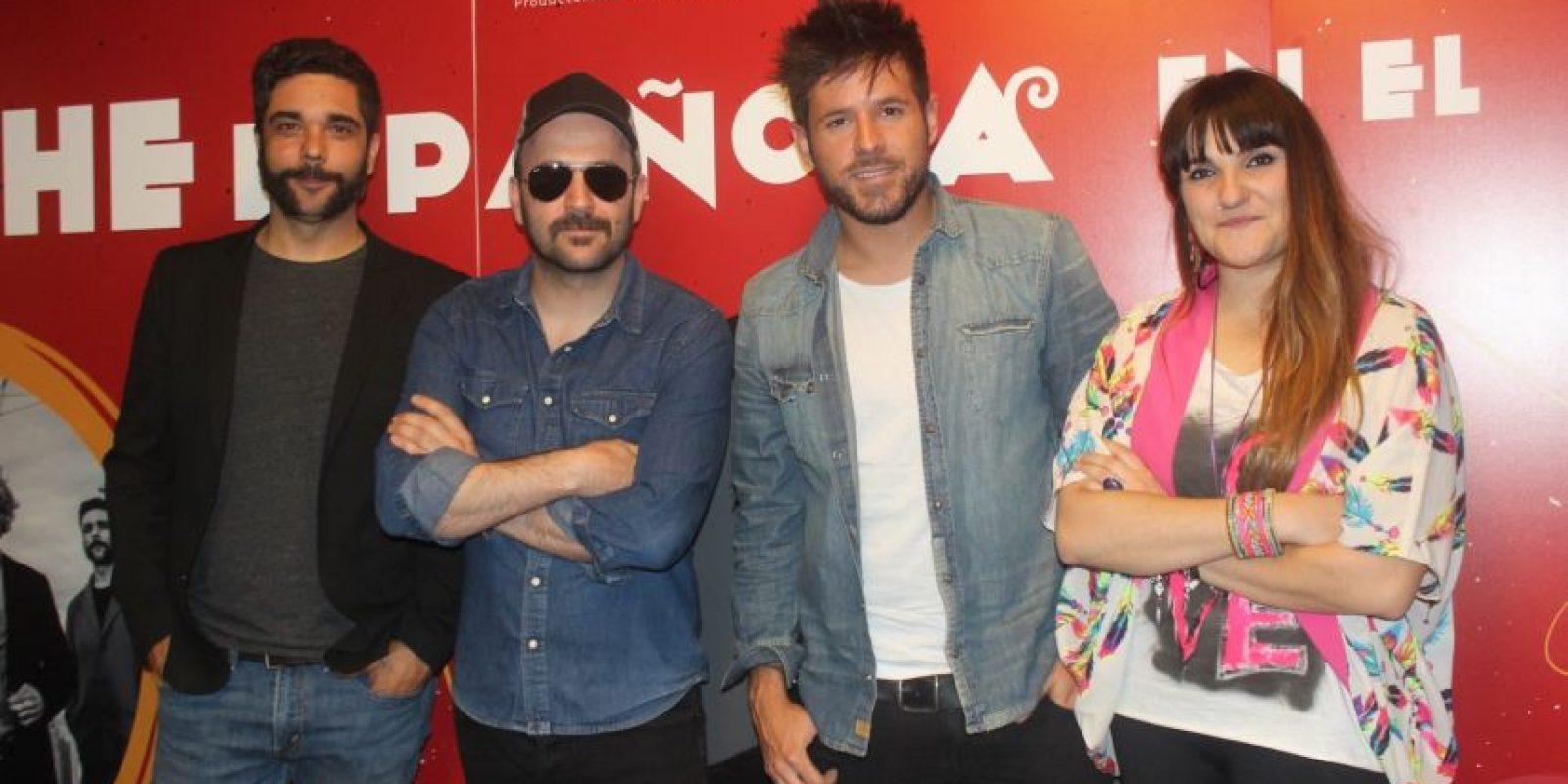 León Benavente, Pablo López y Rozalén Foto:Notimex