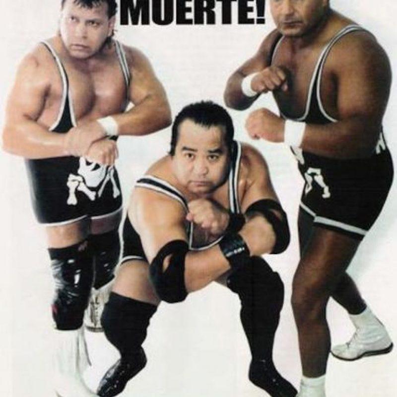 LOS MISIONEROS DE LA MUERTE: Ahí estaban Texano, El Signo y Negro Navarro. Foto:Archivo