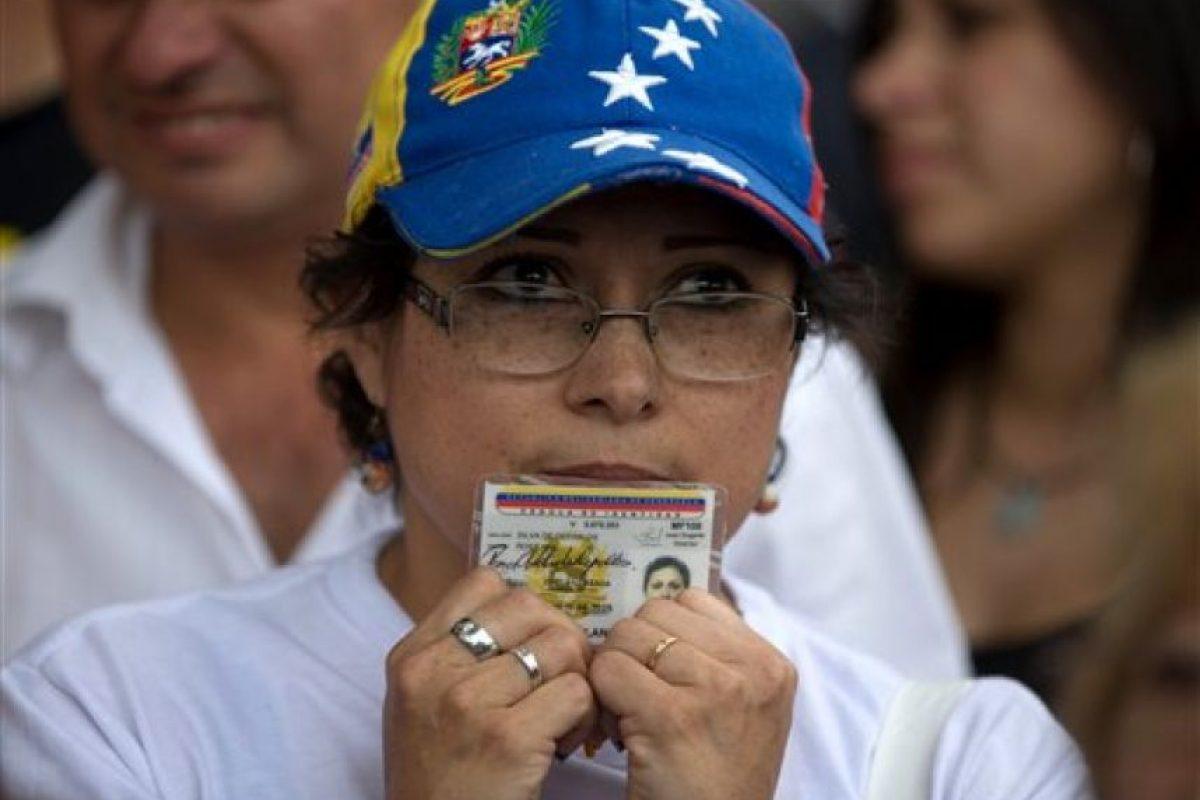 Muchos venezolanos han firmado esta solicitud Foto:ap