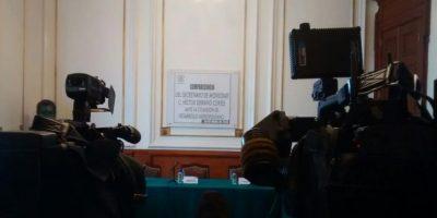 El presidente de la Comisión analiza las acciones a seguir Foto:Israel Zamarrón