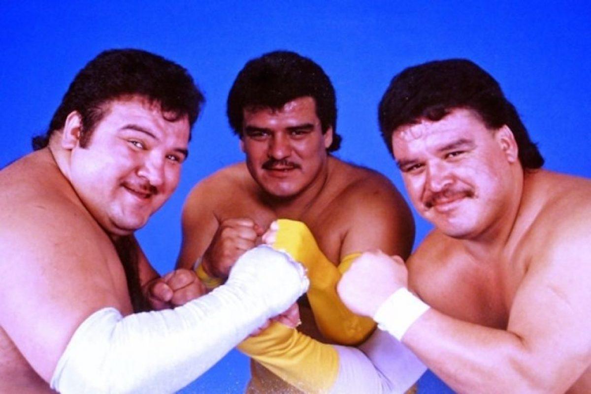 LOS BRAZOS: Los grandes rivales de Los Villanos eran los Brazos Brazo de Plata, Brazo de oro y El Brazo. Foto:Archivo