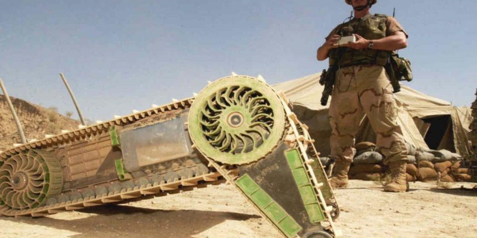Según estudios militares, alrededor del 2018, el ejército estadounidense usará robots militares. Foto:Getty Images