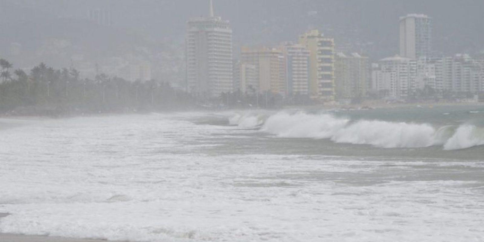 El fenómeno meteorológico de Mar de Fondo afectó durante 2015 a varios estados del país. Foto:Notimex/ Archivo