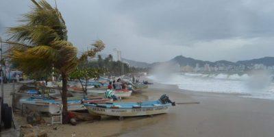 Guerrero y Oaxaca durante 2015, fueron los estados con mayores repercusiones por el Mar de Fondo. Foto:Notimex/ Archivo