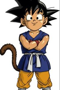 Gokú, el saiyajin más poderoso y protagonista de la serie Foto:Toei