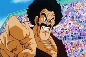 Mr. Satán es un popular luchador en la Tierra. Posó como el vencedor de Cell, pero convenció a los terrícolas de ayudar a Gokú con su Genki-Dama para derrotar a Majin Boo. Lo logró por ser tan querido y famoso. Foto:Toei