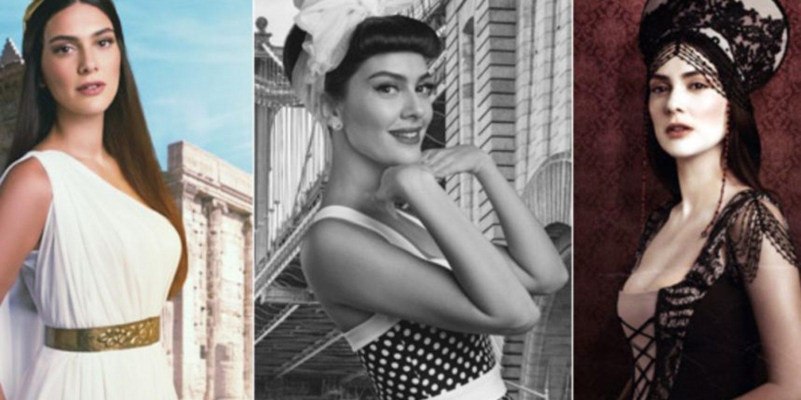 Bergüzar está casada con el coprotagonista de esta telenovela. Foto:vía Facebook/Bergüzar Korel