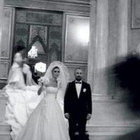 Aquí, cuando se casó. Foto:vía Facebook/Bergüzar Korel y Halit Ergenç Fan Club