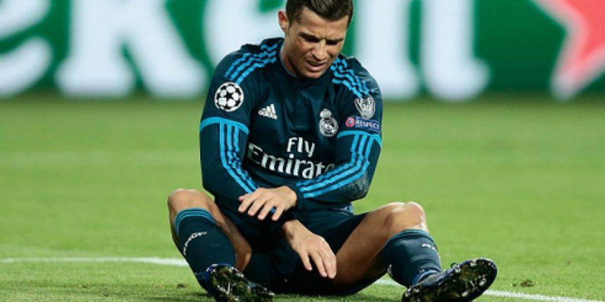 Cristiano también se perdería el juego de vuelta por las semifinales de Champions