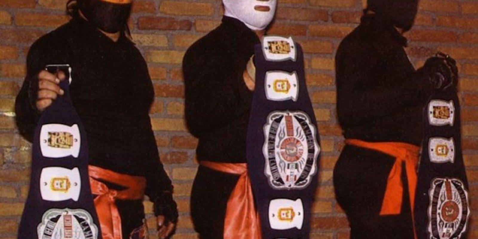 LOS FANTÁSTICOS: Tercia formada por los artemarcialistas Kung Fu, Kato Kung Lee y Black Man. Foto:Archivo