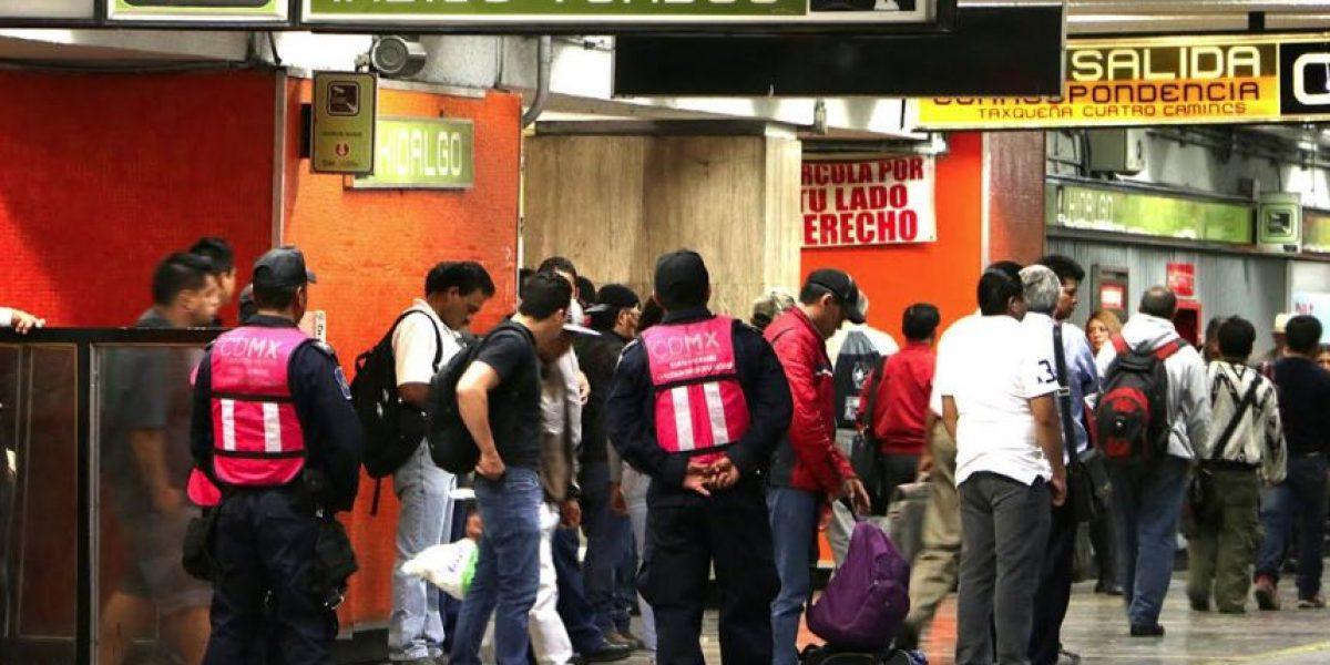 """Metro remite a cinco hombres por operativo """"Viaja Segura"""""""