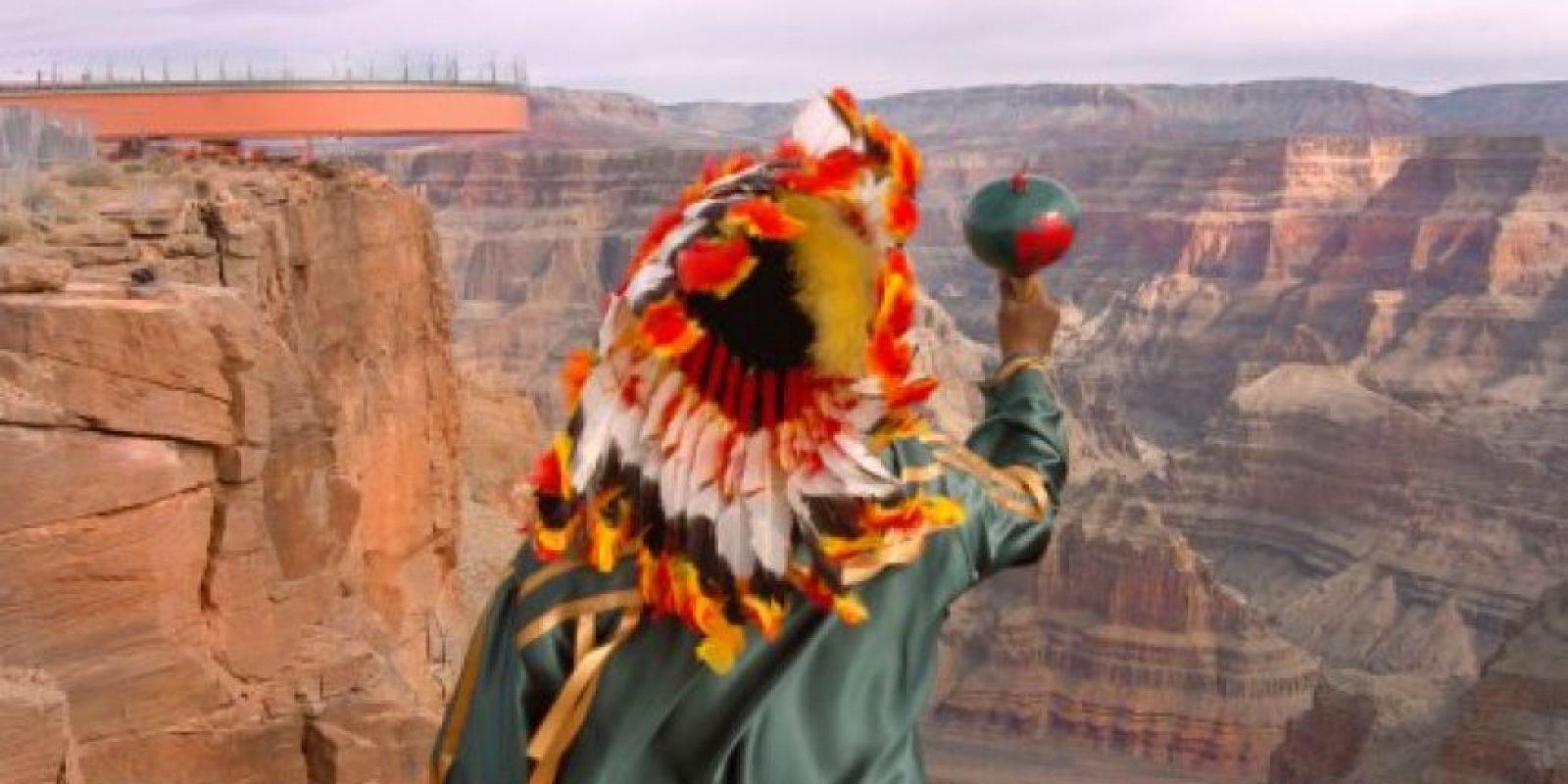 También conocido como el Gran Cañón del Colorado. Foto:Getty Images