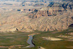 A través de este pasa el río Colorado. Foto:Getty Images