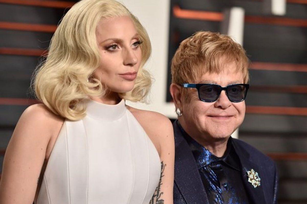 Dos de los grandes iconos de la música Foto:Getty Images