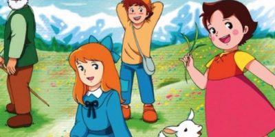 """""""Heidi"""" se estrenó en 1974. Foto:vía Fuji TV"""