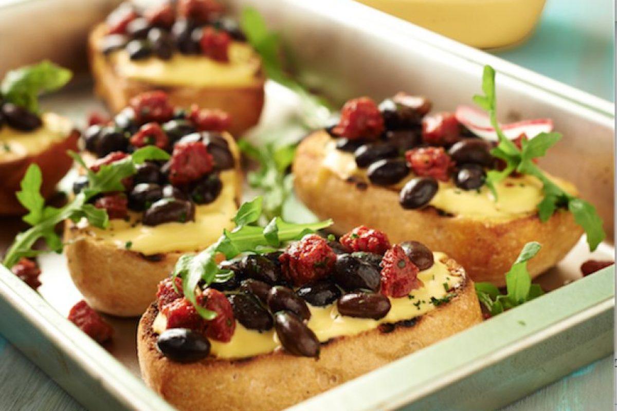 Mini molletes. Foto:Especial
