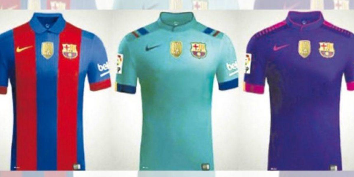 Comienzan a fabricar las nuevas playeras del Barcelona sin publicidad
