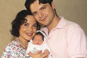 El 28 de marzo de 1996 nació su hija María Lopez Levy Foto:Especial