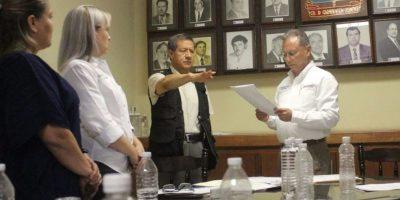 Toma de protesta al nuevo titular de la Secretaría de Seguridad Pública del municipi, Abundio Barragán Dominguez