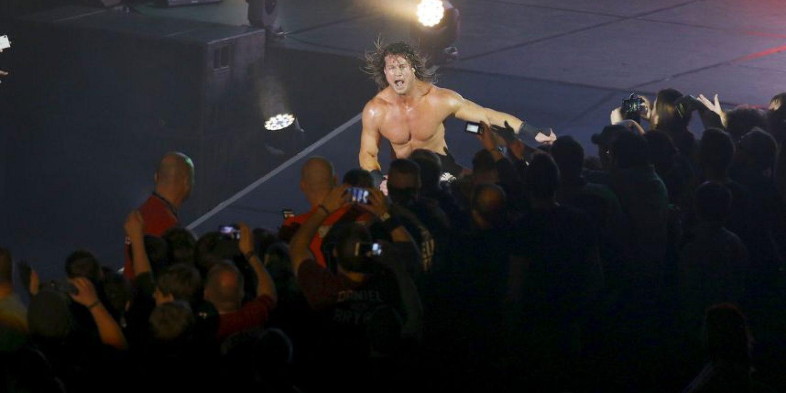 Ha sido Campeón Mundial de WWE en dos ocasiones Foto:Getty Images