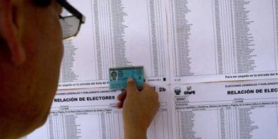 Hija del expresidente peruano Alberto Fujimori , ganó el primer puesto en la primer vuelta electoral. Foto:AP