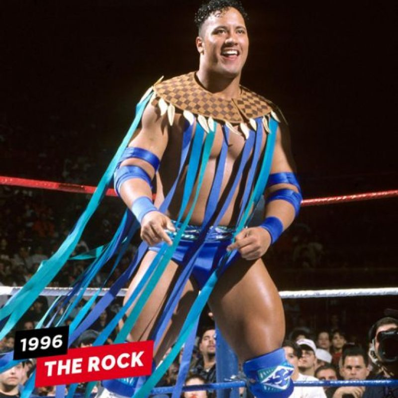 La Roca en 1996 Foto:WWE