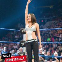 Brie Bella debutó en 2008 Foto:WWE