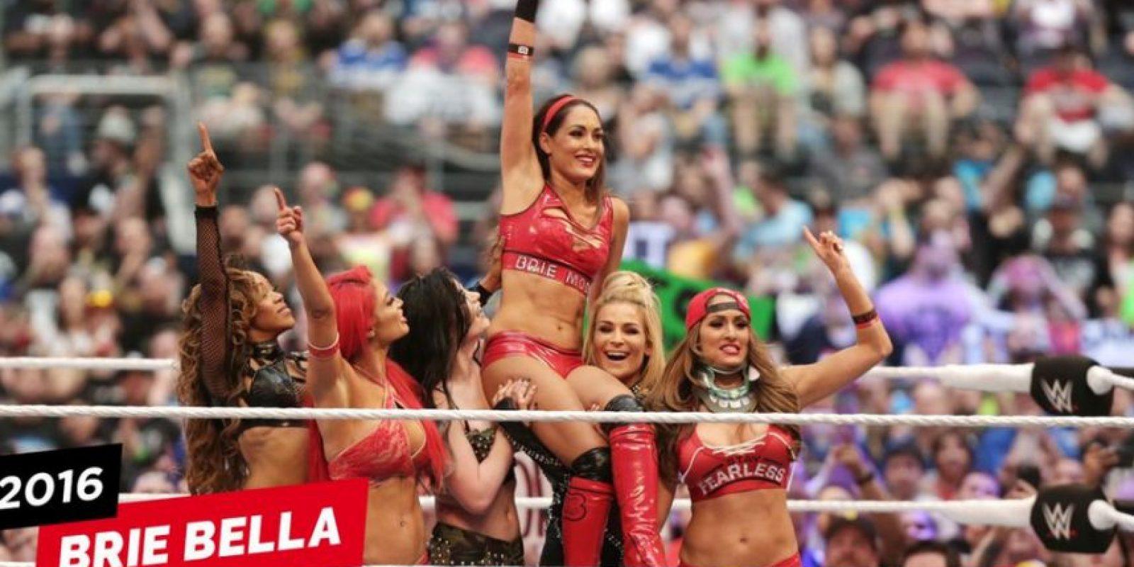 Y se retiró en en el pasado Wrestlemania Foto:WWE