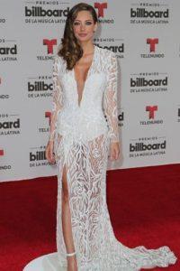 Patricia Zavala en uno de los mejores vestidos de la gala. Foto:vía Getty Images